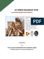 LIFETIME Honey Remote Dealership Offer