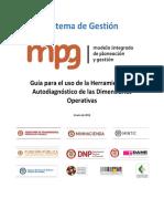 Guía - Aplicación de Diagnóstico MIPG