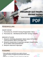 Penggunaan Alat Fogging
