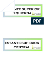 INVENTARIO MERCABA ESTANTES