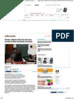 2017 - Educação - Folha de S