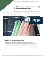 Cómo Usar La Codificación Por Color Para Mantener a Los Chicos Organizados _ Dificultades Del Funcionamiento Ejecutivo
