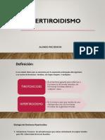 Hipertiroidismo Bocio Sd.cushing