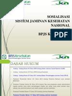 13. Materi Sosialisasi JKN & BPJS Kesehatan 2014-- Perorangan