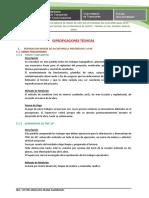 ESPECIFICACIONES TECNICAS PAURELI