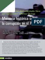 Memoria histórica sobre la corrupción en el Perú. IDEHPUCP.pdf