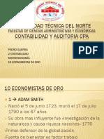 10 Economistas de Oro