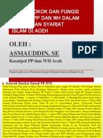Resume Paparan Kasat Tentang Tupoksi Satpol PP Dan WH