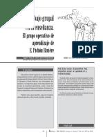 El grupo operativo de Pichón Riviere.pdf