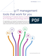 WP M93 Choosing an ITSM Toolset US v1.0