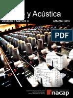Revista Sonido y Acústica Octubre 2010