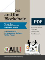 Authors and the Blockchain