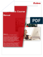 Sabre Basic Course