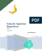 Juan Carreño- Guia de Apuestas Deportivas