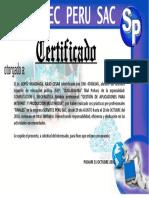 Certificado Remy