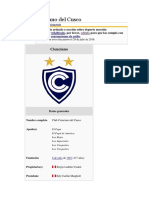 Club Cienciano Del Cusco