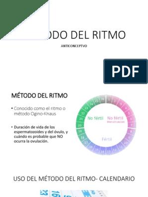 Metodo Del Calendario.Metodo Del Ritmo