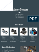 Distance Sensor Presentation