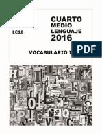 5177-Lc 10 Vocabulario 1 (Léxico Contextual) 2016