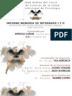 Informe Memoria