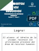 Fundamentos de Los Negocios 4 Rr.hh. 2018