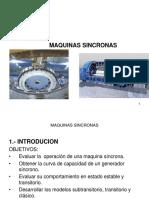 Potencias I-cap v-Maquinas Sincronas