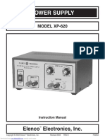 Bench Power Supply - Xp620 - Circuitdiagram.net