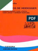 Wolin, Richard - Los Hijos de Heidegger