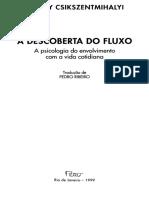 A Descoberta Do Fluxo_trecho