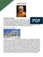 Aristóteles Biografia Aristoteles