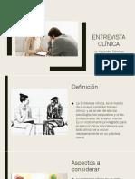 3. Entrevista Clínica