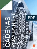 Catalogo Cadenas Para La Nieve