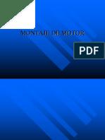 Montaje de Motor