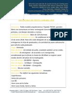 Protocolo Fiesta Agraria 2018