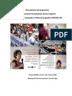 Iguales Derechos Económicos de las Mujeres