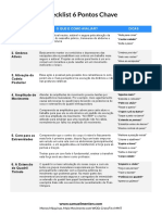 Checklist 6 Pontos Chave