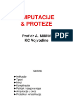 Amputacije i Proteze