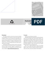 Baofeng RD-5R Manual