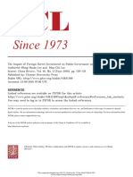 The Impact of Foreign Direct Investment on China