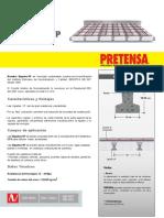 01-Ficha Tecnica Viguetas VP Pretensa 2018