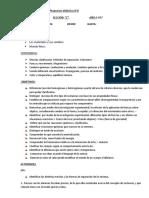 Propuesta didáctica N° 6  ultima DE Cs. Naturales 2.017