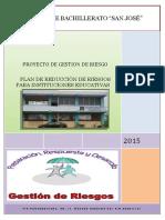 Plan de Riesgo 2015