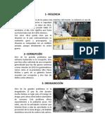 10 Problemas en Guatemala