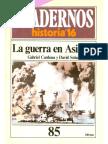 [Cuadernos De Historia 16 número 85] Gabriel Cardona y David Solar - La Guerra En Asia 1(1985, Historia 16).pdf