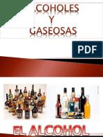 Alcoholes y Gaseosas Septiembre 2015