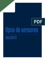 Tipo de Sensores