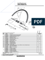 Shimano WH-RS010-R Tech Doc