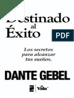 Dante Gebel - Destinado al Exito.pdf