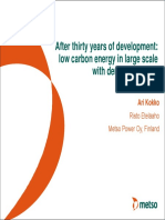 After thirty years of development_ low carbon energy in large scale with demanding fuels. Ari Kokko Risto Eteläaho Metso Power Oy, Finland.pdf