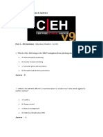 CEHv9 Exam Questions 1 to 200